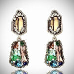 Gorgeous earrings you can mix with any outfit for a touch of Glam